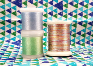 Spools of Metallic Thread